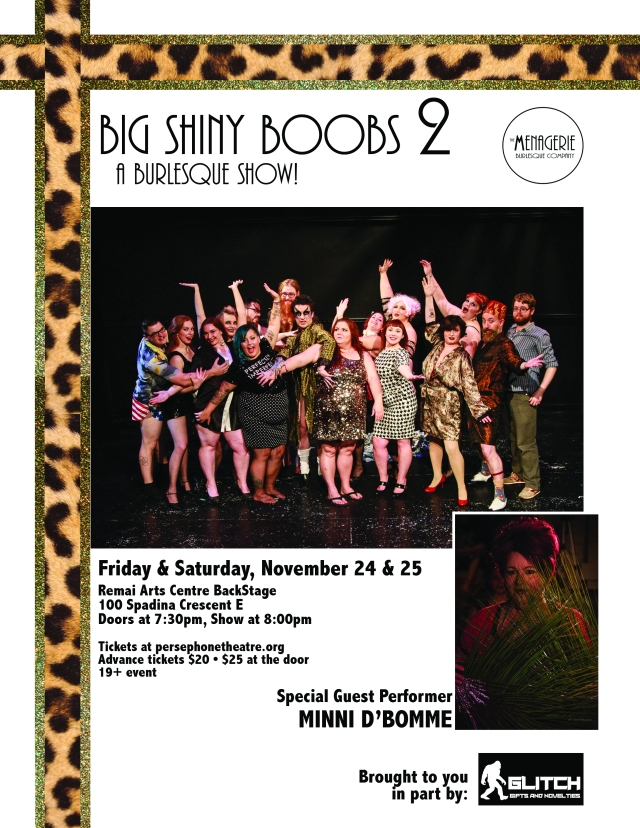 Big Shiny Boobs 2 : A Burlesque Show!